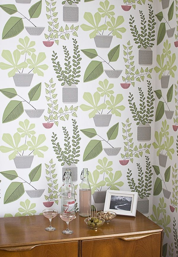 Miss Print HousePlants_wallpaper