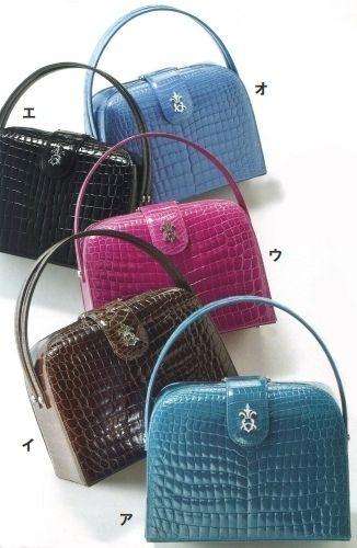 クロコダイルバッグ。両家顔合わせ・結納のときに使えるバッグのまとめ一覧。