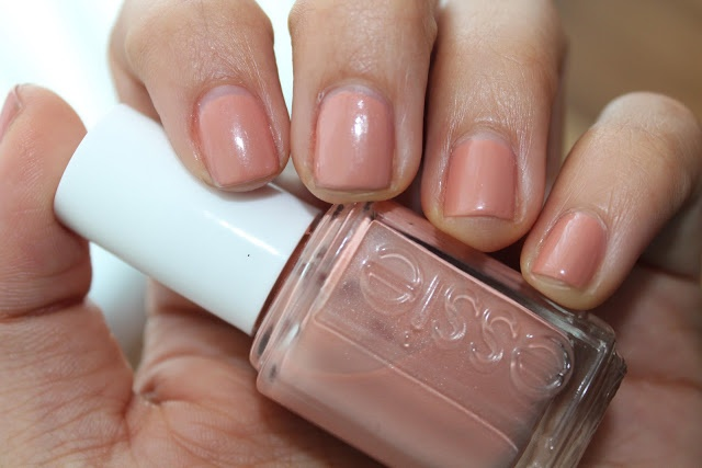 Essie Mamba - used this polish today since my nails are so short at the moment! It's a nice neutral