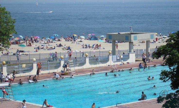 Ocean Beach Park in New London, Connecticut