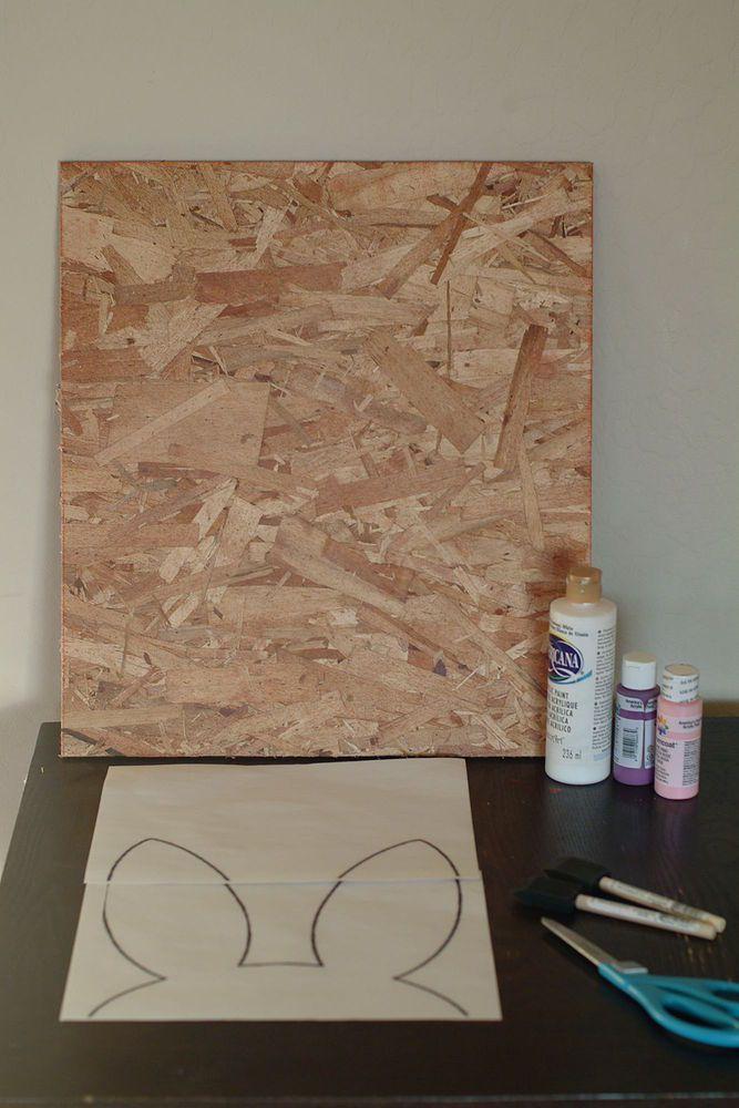 DIY+Bunny+Sign