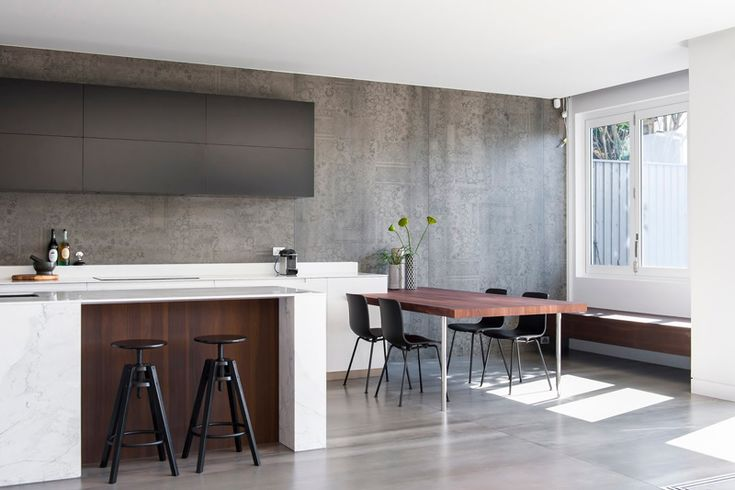 See how this dilapidated graffiti filled kitchen got transformed into a stunning award winner