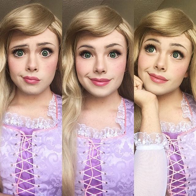 This Guy Is A Better Disney Princess Than All Of Us: http://www.dose.com/entertainment/29613/This-Guy-Magically-Transforms-Himself-Into-Gorgeous-Disney-Princesses