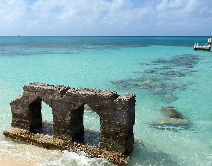 Grand Turk ruins by Julia Springer. #Caribbean #TCI #Travel