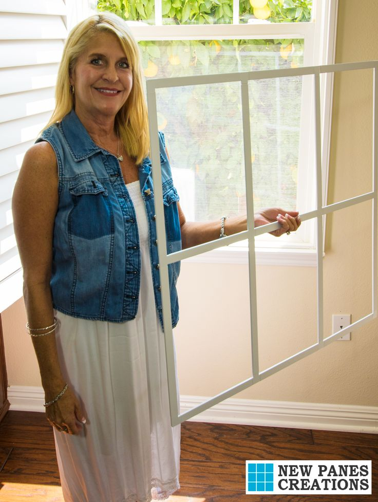 Easily Removable Diy Window Treatments Muntins