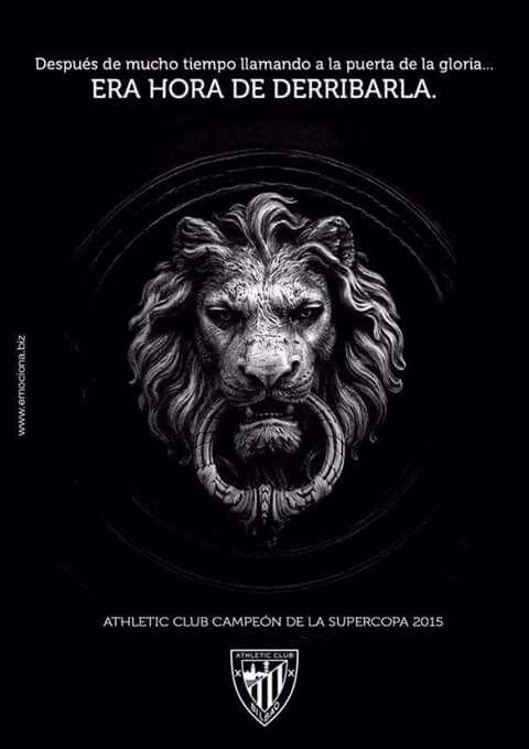 Hora de llamar y entrar en la gloria #Athletic Club #Bilbao