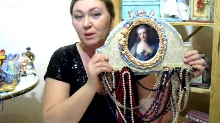 Трансляция (2017-02-14) Елена Васько.  Декупаж. В преддверии весны