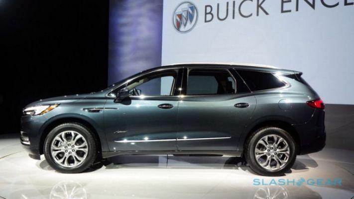 2019 Buick Enclave Redesign Interior