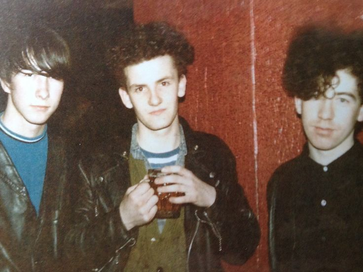 Bobby Gillespie, Douglas Hart and William Reid. Jesus and Mary Chain. 1985
