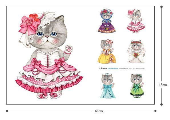 cat/persian/himalayan/pet/pillow/fabric/princess/dress/cushion/linen
