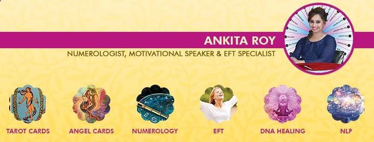 Numerology Reading  - Get the perfect prediction about anything related to your life with Tarot Reading from the #AnkitaRoy Certified Member and Tarot Reader of American Tarot Association. For Appointments Call:  91-9711234600 #TarotCards #AngelCards #Numerology #EFT #DNAheali - Get your personalized numerology reading