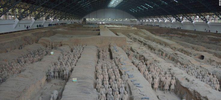 Una visita inolvidable al Museo de los Guerreros y Caballos de Terracota Qing - http://www.absolut-china.com/una-visita-inolvidable-al-museo-de-los-guerreros-y-caballos-de-terracota-qing/
