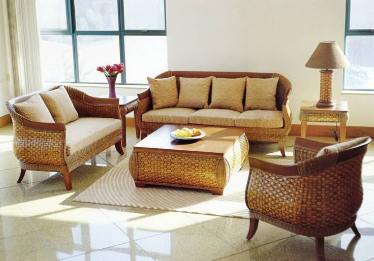 indoor wicker furniture sets for small living room
