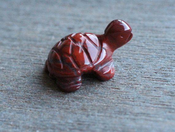 Rode Jasper schildpad beeldje F79