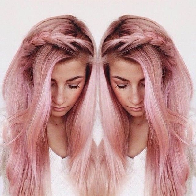 sometimes I want my hair to be a blatantly unnatural pastel hair color but that would be dubious (I felt like using big words)