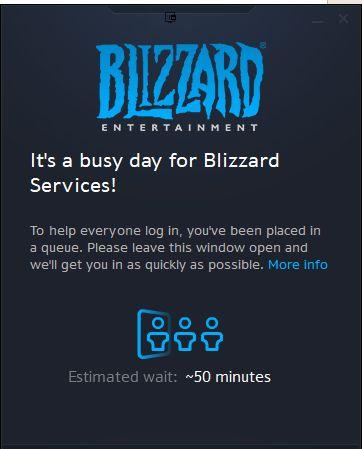 WTF 50 min login queue??? What gives #worldofwarcraft #blizzard #Hearthstone #wow #Warcraft #BlizzardCS #gaming