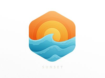17 Best Images About Sunset Logo On Pinterest