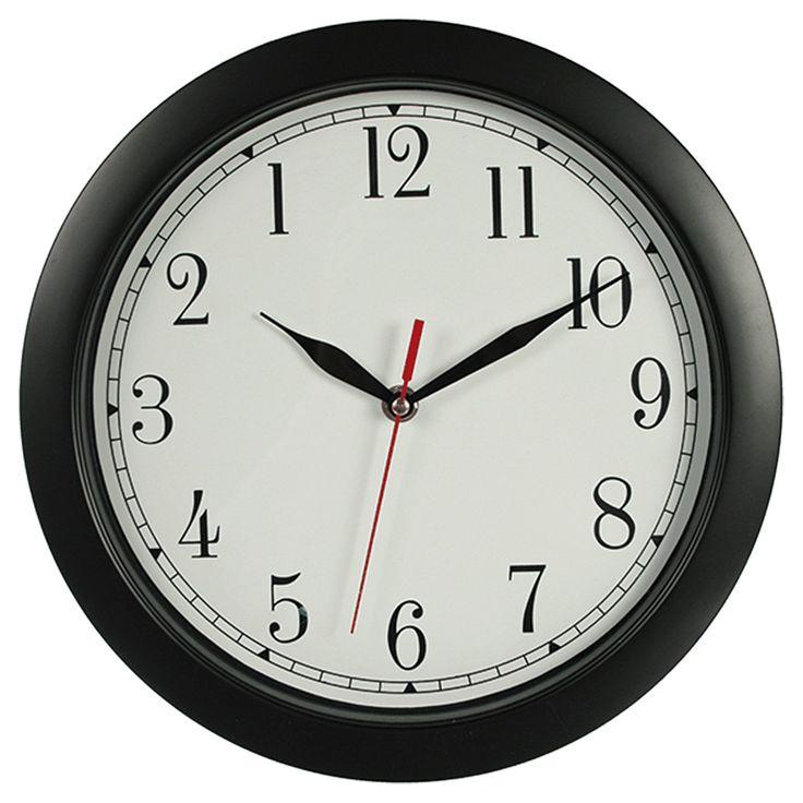 Absoluter Hingucker Wanduhr,Rückwärtsuhr.Die Zeiger laufen genau entgegengesetzt zur normalen Uhren und die Ziffern stehen in umgekehrter Reihenfolge zu der tatsächlichen Zeitangabe. Mit dieser Uhr wird jede Zeitangabe zu einer echten Herausforderung!Die Zahlen von 1 bis 12 sind gegen den Uhrzeigersinn angeordnet.Zeiger laufen ebenfalls gegen den Uhrzeigersinn. 30 cm Durchmesser.Präzisions-Quartz-Uhrlaufwerk,1 x AA Batterie benötigt (wird nicht mitgeliefert)