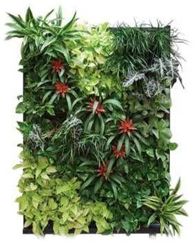 M s de 1000 ideas sobre plantas artificiales en pinterest for Jardines verticales artificiales baratos