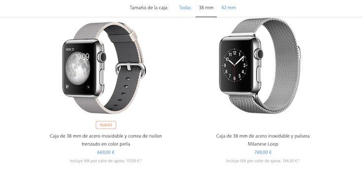 Apple presenta nuevas correas para el Apple Watch y ¡descenso de precio! - http://www.actualidadiphone.com/nuevas-correas-para-apple-watch/