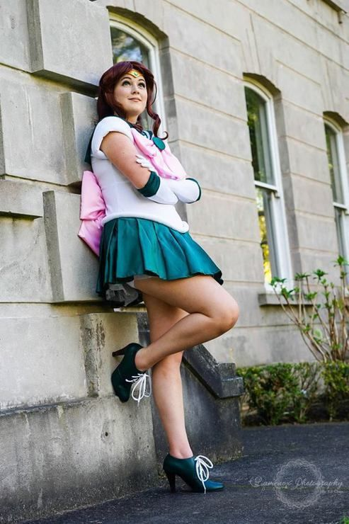 Sailor Jupiter cosplay (Sailor Moon) by Raincloud Cosplay, photo by Lumenox Photography
