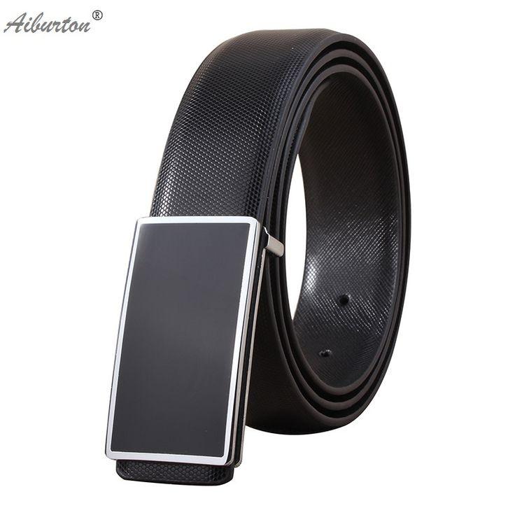 cheap designer belts mens rj4v  Active designer belts men high quality genuine leather smooth buckle  chastity male belt black white color