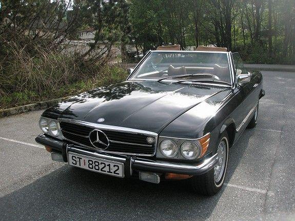 Mercedes-Benz SL rc 350 4,5  1972, 110420 km, kr 99000,- -