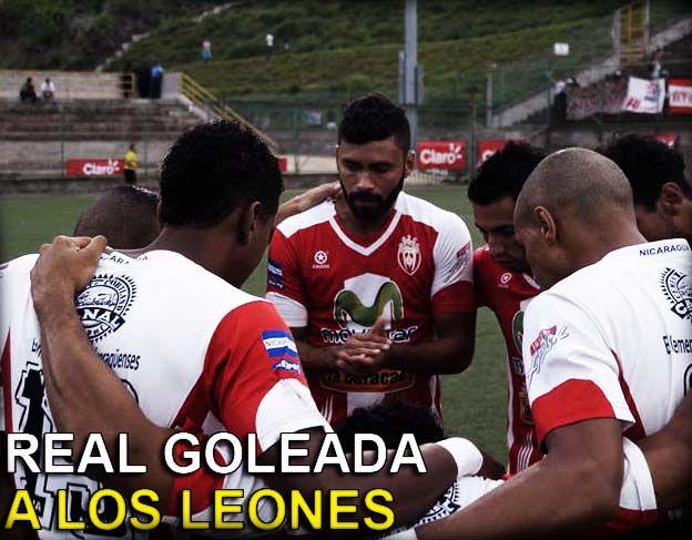 Real Goleada A Los Leones
