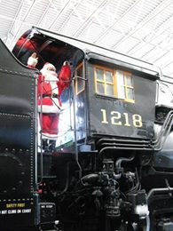 Candy Cane Express at the Virginia Museum of Transportation 6 December - 7 December Virginia Museum of Transportation