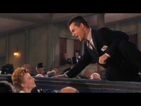 Al Jolson Sings whilst Larry Parks lip synchs to April Showers from The Jolson Story - In YouTube HD Widescreen. And also featuring: Evelyn Keyes
