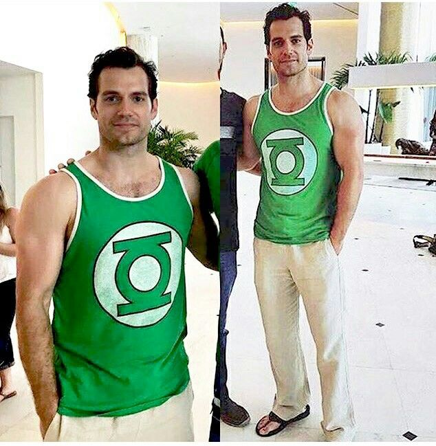 whoever knew superman secretly always wanted to be the green lantern?