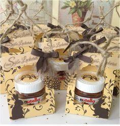 my stampart - Stampin' Up! Mini Nutella Gift Box Stempel Auf den ersten Blick/First Sight