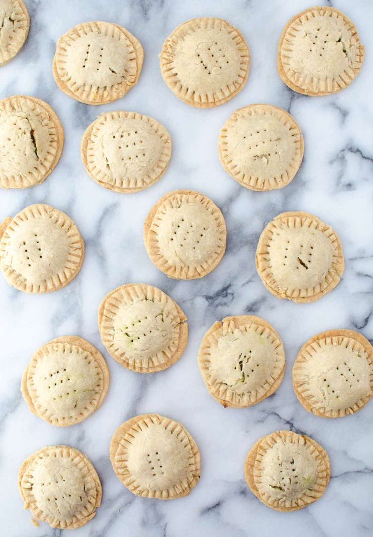 Lentil Hand Pies with Walnut Pesto