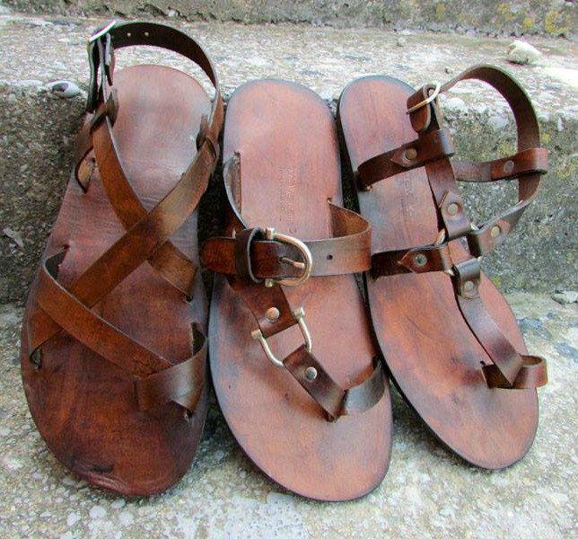 Sandalias de cuero, sandalias de hombre sandalias/unisex de EATHINI en Etsy https://www.etsy.com/mx/listing/384773056/sandalias-de-cuero-sandalias-de-hombre