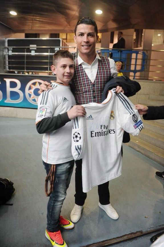 Cristiano Ronaldo invites Polish boy who recovered from coma to Real Madrid game