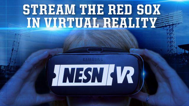 NESN A la Secuencia de los medias Rojas de los Rayos Juegos En Realidad Virtual de Este fin de Semana