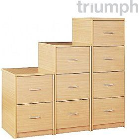 triumph everyday wooden filing cabinets