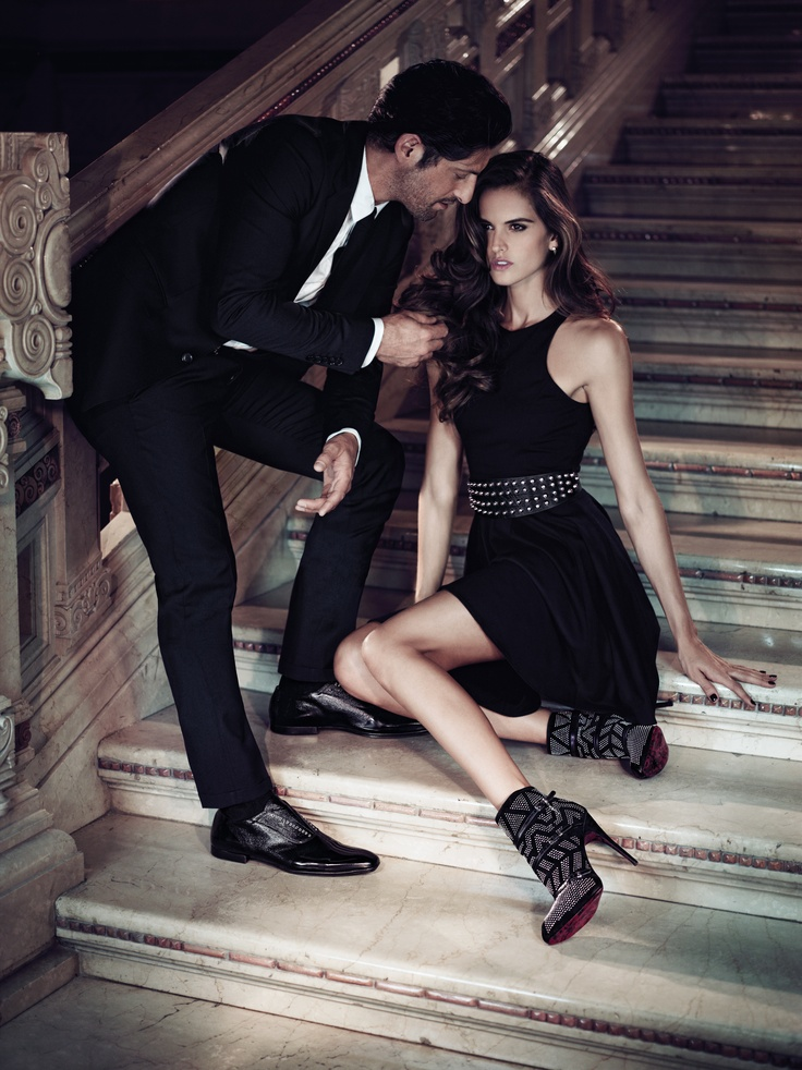 Models Izabel Goulart, Tony Ward  Photographer Stefano Galuzzi