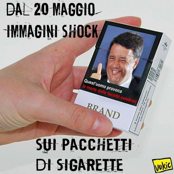 il fumo...fa male #IoSeguoItalianComics #Satira #Politica #Humor #Comics #Renzi…