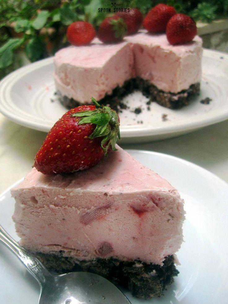 παγωτό φράουλα - strawberry ice cream