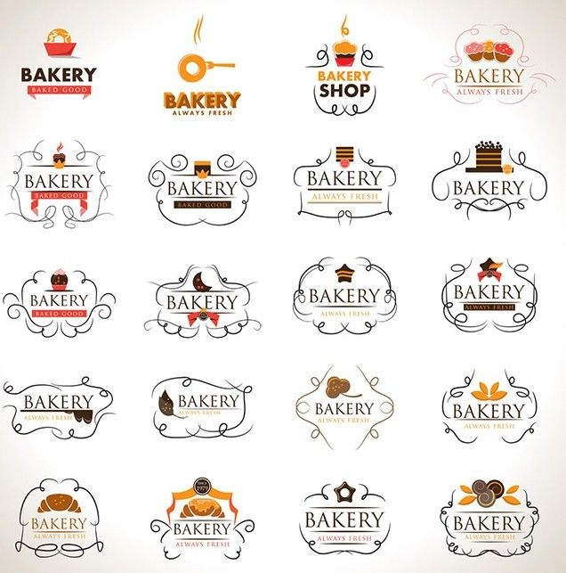Download Free Elegant Bakery Logo Set Vector under the free Vector Food & Drink, Vector Logo category(ies) at TitanUI.CoM!