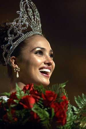 Thoughts of Miss Universe 2000
