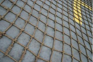 Rope climbing nets make excellent additions to obstacle courses and play areas in addition to being a staple in the maritime industry. This article will show you how to make a 3 1/2-foot by 5-foot rope climbing net with a 4-inch by 4-inch mesh pattern. The knot used on this climbing net is the Carrick Bend. This knot is ornamental but also very...