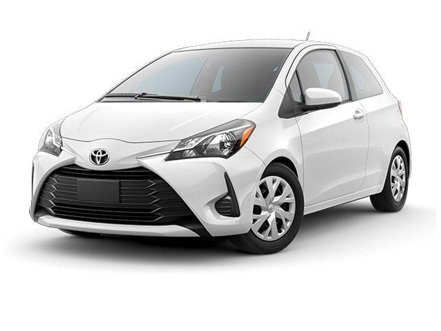 2018 Toyota Yaris Hatchback Super White Toyota Yaris Hatchback