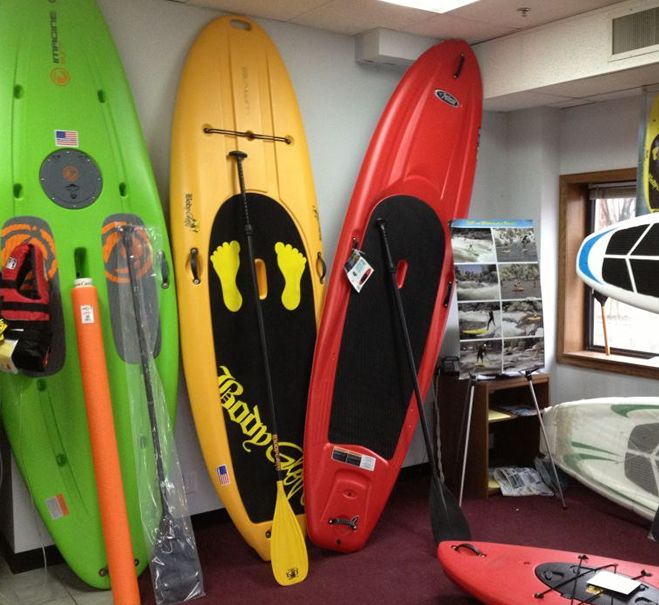 Stand up Paddleboard Sales and Rentals from Bros Boards on Norris Lake