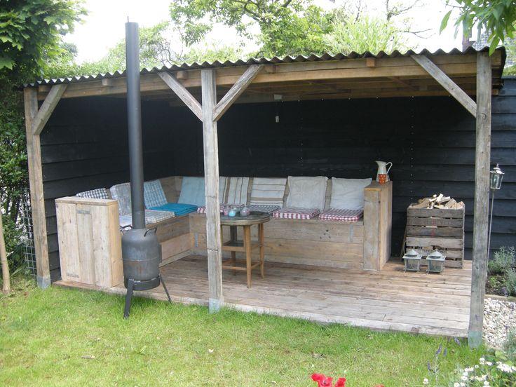 Meer dan 1000 idee n over tuin prieeltje op pinterest klokkenbalken tuinieren en latwerk - Latwerk houten ...