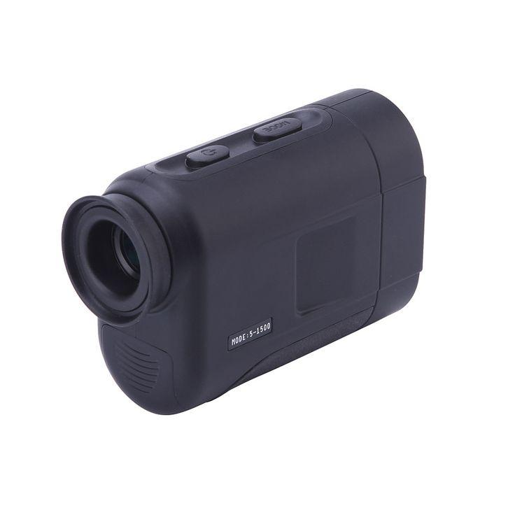 H1500 1500M Handheld Monocular Laser Range Finder Outdoor Rangefinder Golf Hunting #Affiliate