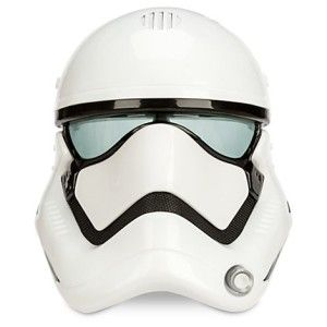 First Order Stormtrooper Voice Changing Mask -The Force Awakens Stormtroopers enforce the will of the First Order. Sound just like a soldier when you put on this voice changing mask.