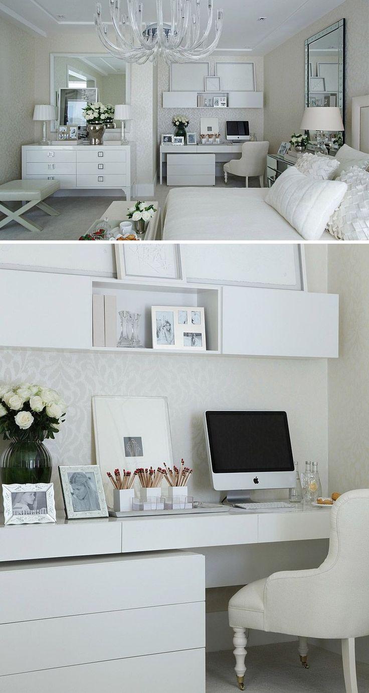 Elegância discreta em quarto da jovem blogueira, por Christina Hamoui