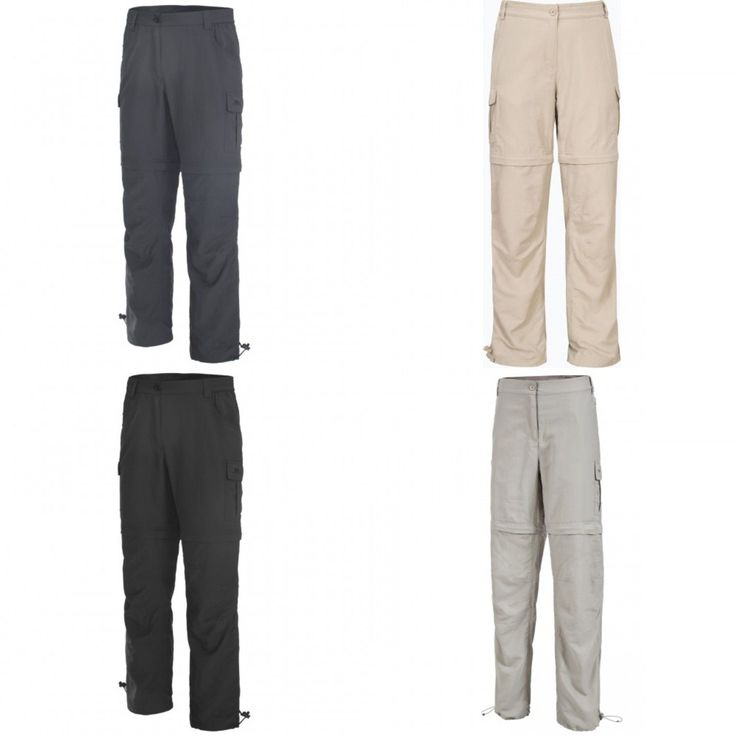Trespass Womens/Ladies Curtis Convertible Cargo Pants/Trousers